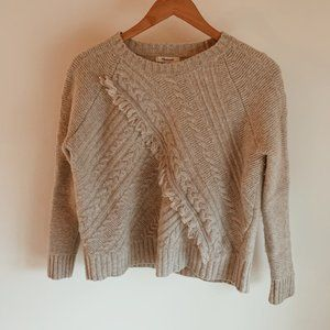 Madewell knit textured sweater